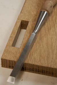 mortise and chisel